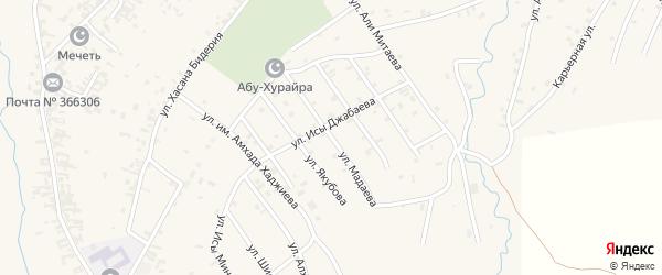 Улица им Лечи Мадаева на карте села Автуры с номерами домов