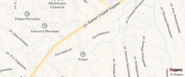 Почтовая улица на карте села Автуры с номерами домов
