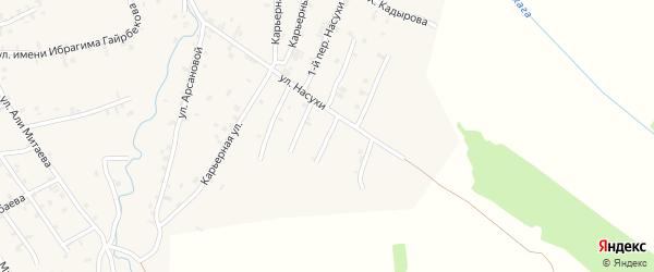 Переулок 4-й Насухи на карте села Автуры с номерами домов