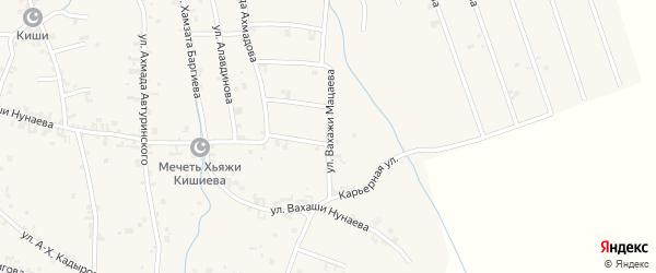 Восточная улица на карте села Автуры с номерами домов
