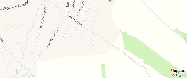 Насухи 5-й переулок на карте села Автуры с номерами домов