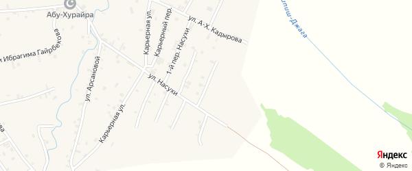 Переулок 2-й Насухи на карте села Автуры с номерами домов
