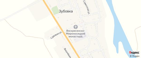 Комсомольская улица на карте села Зубовки с номерами домов