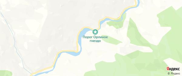 Карта села Шугури в Дагестане с улицами и номерами домов