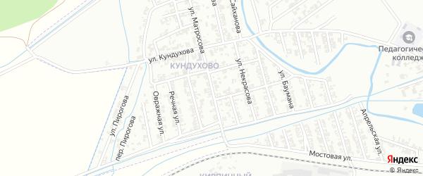 Улица Матросова на карте Гудермеса с номерами домов