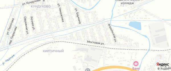 Улица 8 Марта на карте Гудермеса с номерами домов
