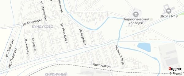 Урожайная улица на карте Гудермеса с номерами домов
