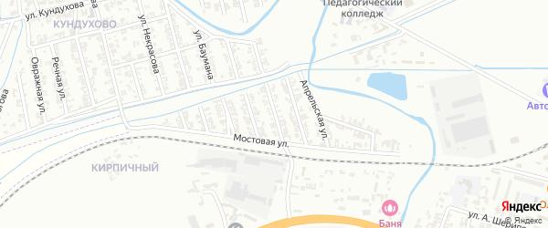 Заводская улица на карте Гудермеса с номерами домов