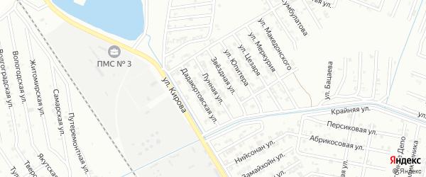 Звездная улица на карте Гудермеса с номерами домов