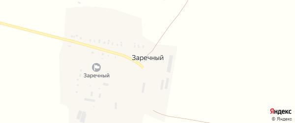 Садовая улица на карте Заречного поселка с номерами домов