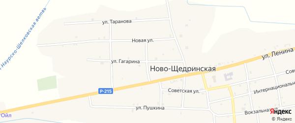 Улица Гагарина на карте Ново-Щедринская станицы с номерами домов