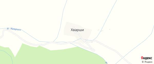 Улица Имени Абдулаева Омара на карте села Хварш с номерами домов