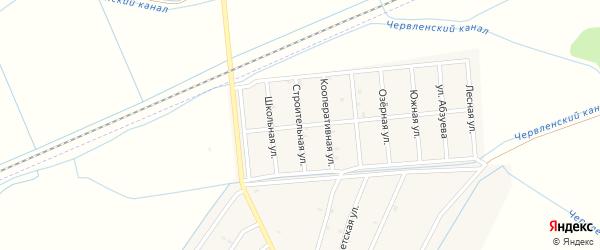 Строительная улица на карте Старо-Щедринская станицы с номерами домов