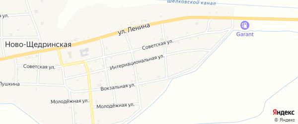 Улица Им Г.А.Таранова на карте Ново-Щедринская станицы с номерами домов