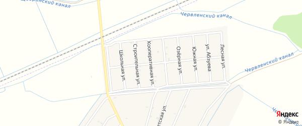 Кооперативная улица на карте Старо-Щедринская станицы с номерами домов