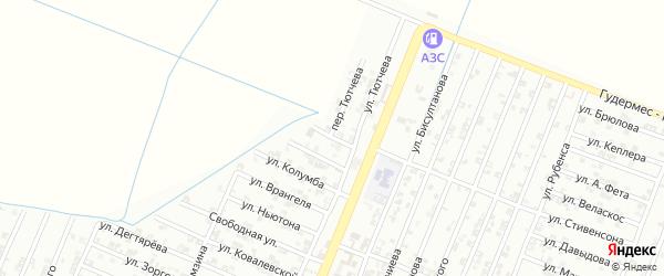 Окружная улица на карте Гудермеса с номерами домов