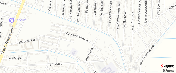 Улица Морозова на карте Гудермеса с номерами домов