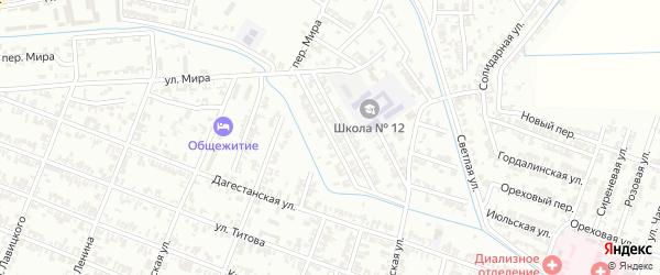 Улица Тайсумова Урам на карте Гудермеса с номерами домов