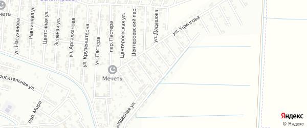 Улица Куприна на карте Гудермеса с номерами домов