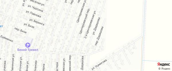 2-я Центероевская улица на карте Гудермеса с номерами домов
