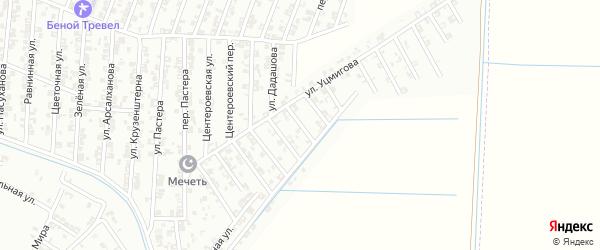 Улица Н.Хрущева на карте Гудермеса с номерами домов