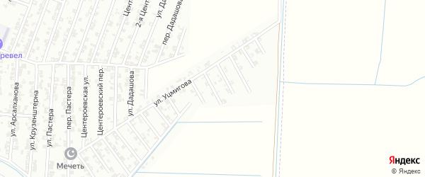 Улица Росси на карте Гудермеса с номерами домов