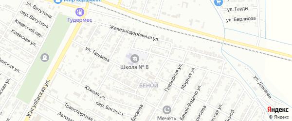 Молодежная улица на карте села Мелчхи с номерами домов