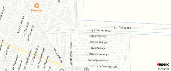 Фруктовая улица на карте Гудермеса с номерами домов
