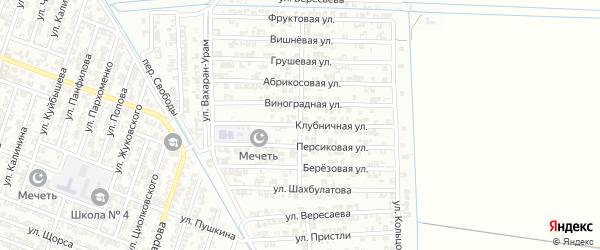Улица Высоцкого на карте Гудермеса с номерами домов