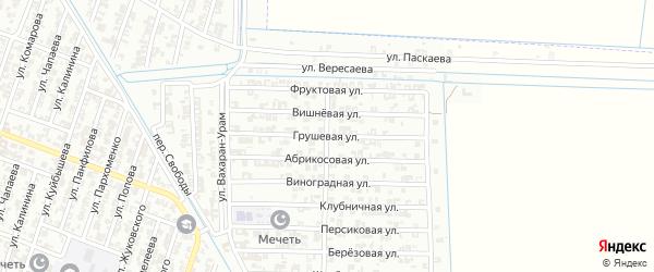 Грушевая улица на карте Гудермеса с номерами домов