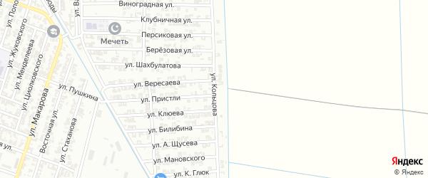 Улица Кольцова на карте Гудермеса с номерами домов