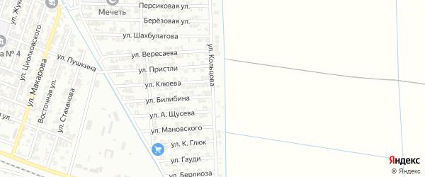 Солнечная улица на карте Гудермеса с номерами домов