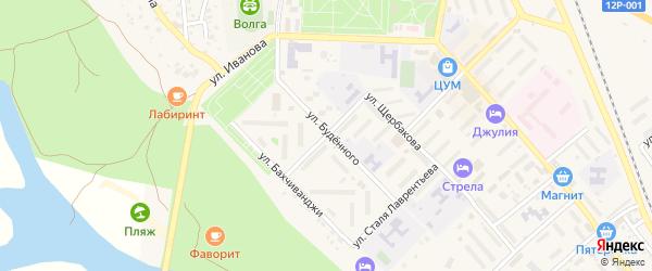 Улица Стогова на карте Ахтубинска с номерами домов
