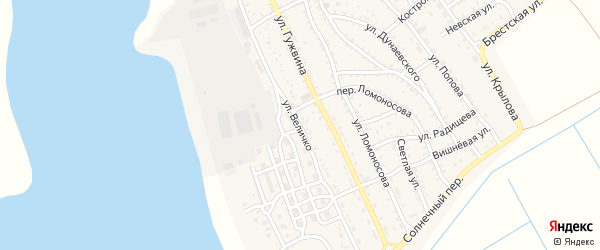 Улица Величко на карте Ахтубинска с номерами домов