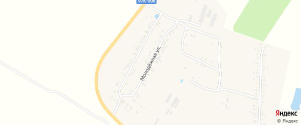 Молодежная улица на карте Стрелецкой деревни с номерами домов