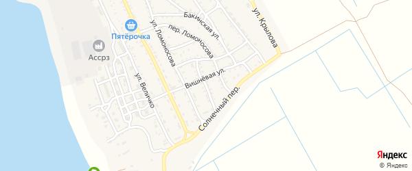Светлая улица на карте Ахтубинска с номерами домов
