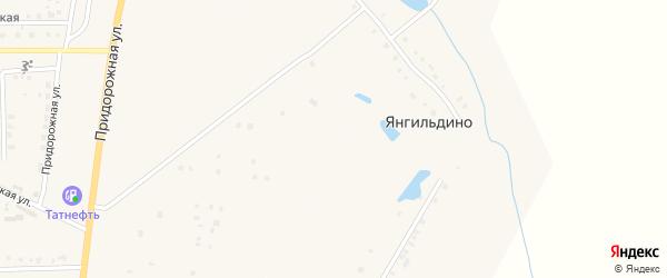 Улица Я.Г.Храмова на карте деревни Янгильдино с номерами домов