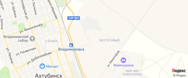 СТ СОТ Ласточка на карте Ахтубинска с номерами домов