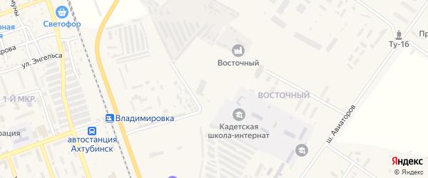 Прохладная улица на карте Ахтубинска с номерами домов