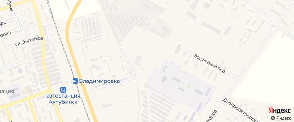 Полевой переулок на карте Ахтубинска с номерами домов