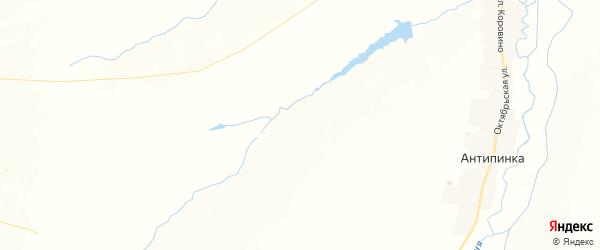 Карта Октябрьского сельского поселения республики Чувашия с районами, улицами и номерами домов