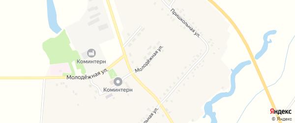 Молодежная улица на карте села Атнар с номерами домов