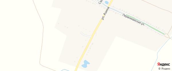 Улица Энтузиастов на карте Семеновского села с номерами домов