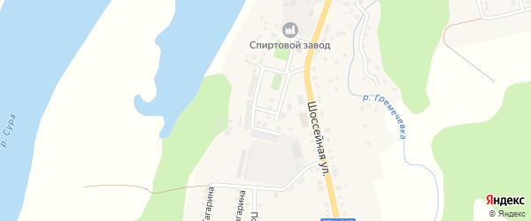 Улица Мира на карте Ядрина с номерами домов
