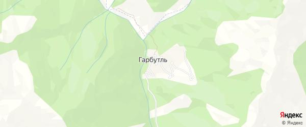 Карта села Гарбутля в Дагестане с улицами и номерами домов