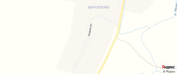 Новая улица на карте села Антипинка с номерами домов