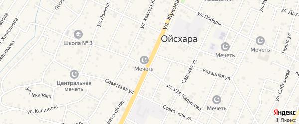 Улица Жукова на карте поселка Ойсхары с номерами домов