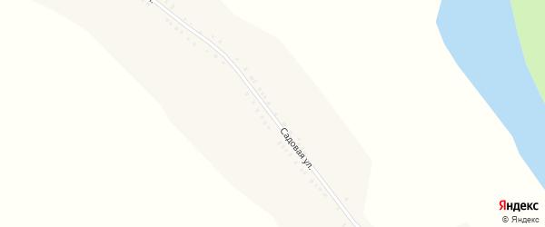 Садовая улица на карте деревни Устиновки с номерами домов