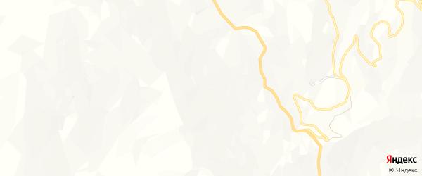 Карта села Беледи в Дагестане с улицами и номерами домов