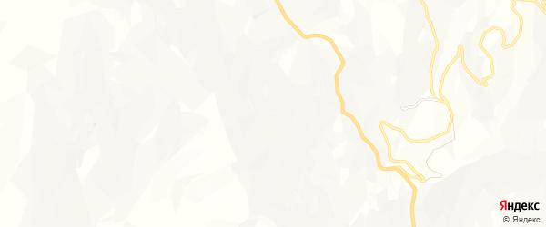 Карта села Айтхана в Дагестане с улицами и номерами домов